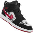 Air Jordan 1 Mid SE (Newspaper) (Preschool)