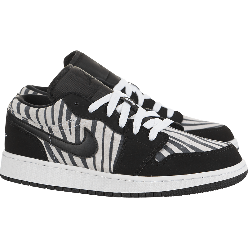 Air Jordan 1 Low (Zebra) (Kids)