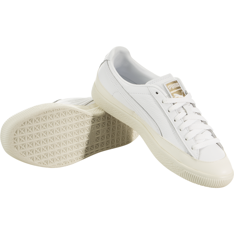 Puma Clyde Rubber Toe Leather