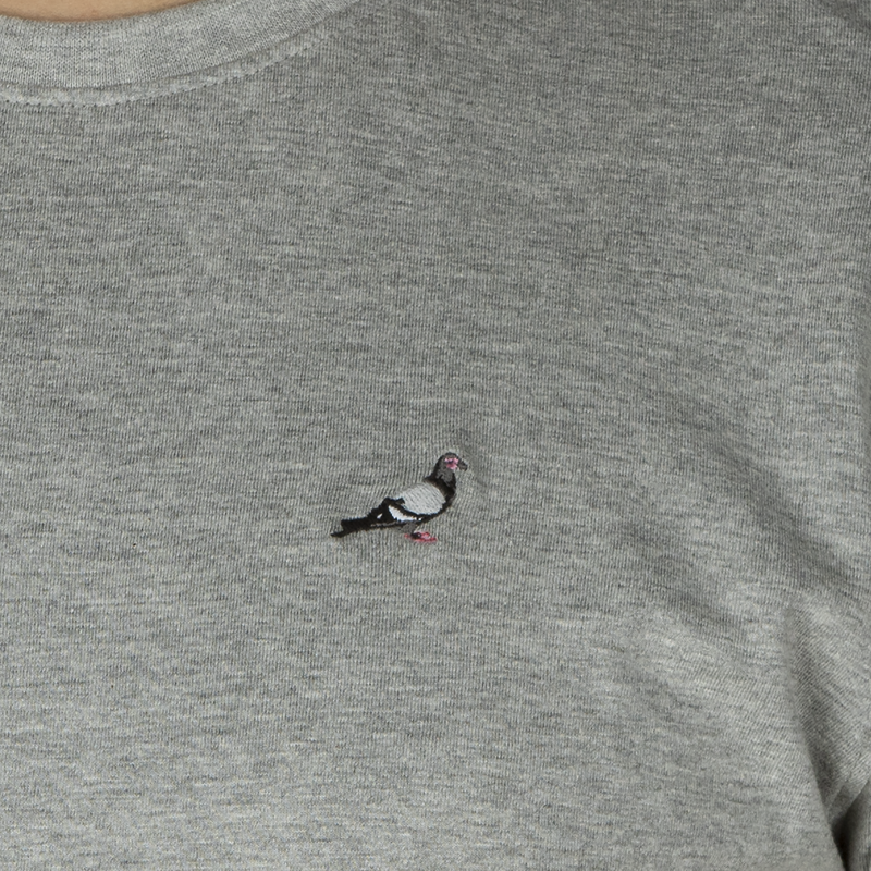 Staple Pigeon Embroidered LS Shirt
