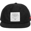 HUF x Budweiser Label 6-Panel Strapback
