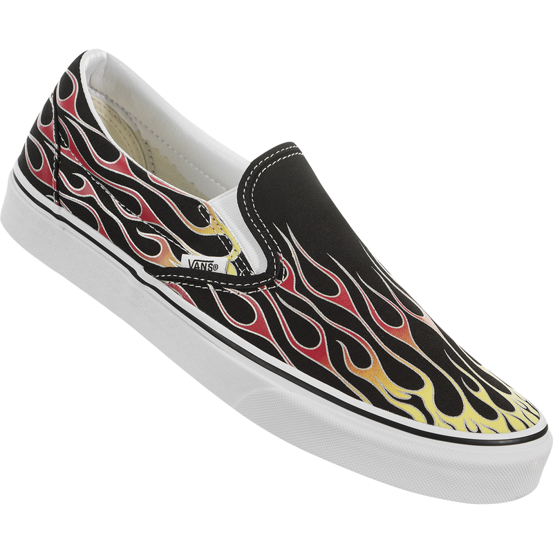 Vans Classic Slip-On (Vans Mash Up Flames)