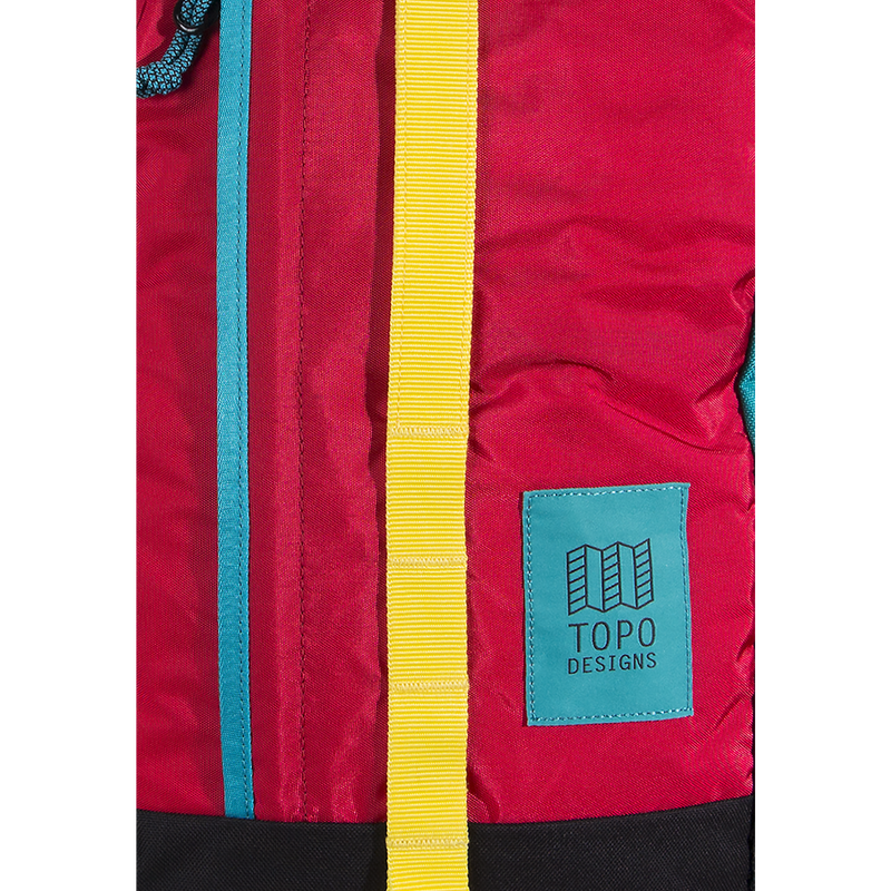 Topo Design Backdrop Bag