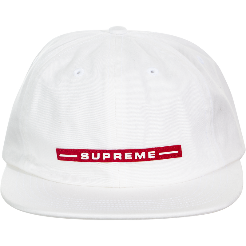 Supreme Raised Logo 6-Panel Strapback