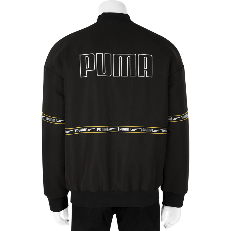 Puma Check Heavy Bomber Jacket