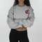 Champion Life Women's RW Cropped Cut-Off Crewneck
