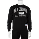Supreme x Champion Stay In School Crewneck
