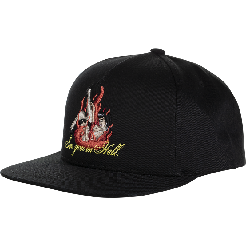 HUF See You In Hell Snapback