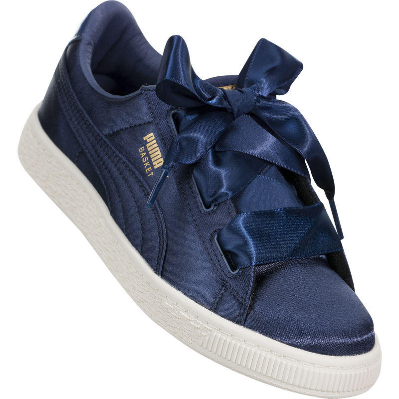 Puma Basket Heart Tween (Preschool)