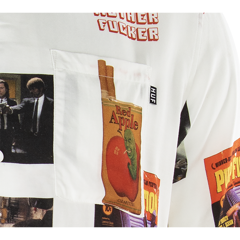 HUF x Pulp Fiction Photo Woven Shirt