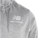 New Balance Essentials Stacked Logo Full Zip Hoodie