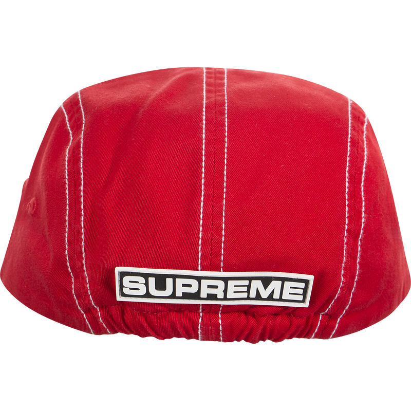 Supreme Fitted Rear Patch Camp Cap