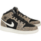 Air Jordan 1 Mid SE (Leopard) (Kids)