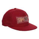 Supreme Metallic Arc 6-Panel Snapback