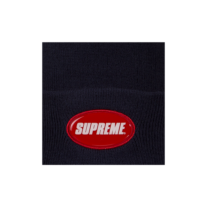 Supreme Rubber Patch Beanie