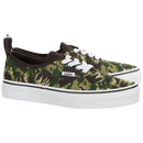Vans Authentic Elastic (Animal Camo) (Preschool)