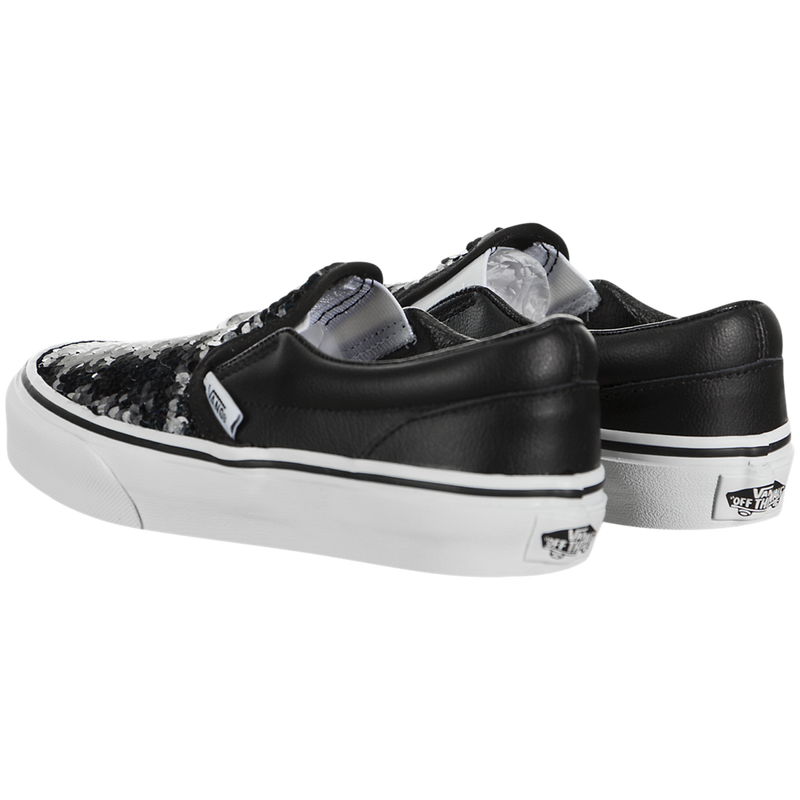 Vans Classic Slip-On (Flipping Sequins) (Preschool)