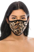 Load image into Gallery viewer, Print Standard Size 2 pk-ITY & Cotton 3 Layered Reversible Washable Face Mask - Jostar Online