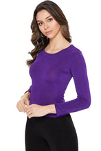 Load image into Gallery viewer, Jostar Women's Stretch Jr. Long Sleeve Top Petite Size-120BN-LRS1 - Jostar Online