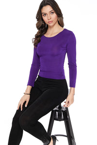 Jostar Women's Stretch Jr. Long Sleeve Top Petite Size-120BN-LRS1 - Jostar Online
