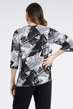 Load image into Gallery viewer, Jostar Women's Stretchy Merrow Top 3/4 Sleeve Print Plus, 158BN-QXP-W120 - Jostar Online