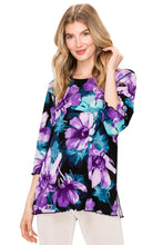 Load image into Gallery viewer, Jostar Women's Stretchy Merrow Top Three Quarter Print-158BN-QRP1-W050 - Jostar Online