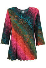 Load image into Gallery viewer, Jostar Women's Stretchy Merrow Top 3/4 Sleeve Print Plus, 158BN-QXP-W182 - Jostar Online