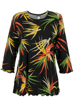 Load image into Gallery viewer, Jostar Women's Stretchy Merrow Top 3/4 Sleeve Print Plus, 158BN-QXP-W679 - Jostar Online