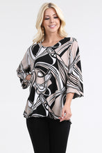 Load image into Gallery viewer, Jostar Women's HIT Merrow Top Three Quarter Print-158HT-QRP1-W009 - Jostar Online