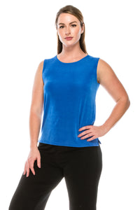 Jostar Women's Non Iron Vented Tank Top Sleeveless Plus, 210AY-TX - Jostar Online