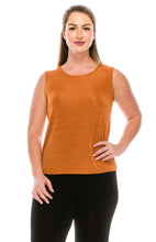Load image into Gallery viewer, Jostar Women's Non Iron Vented Tank Top Sleeveless Plus, 210AY-TX - Jostar Online