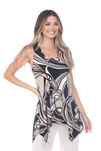 Load image into Gallery viewer, Jostar Women's HIT Side Drop Tank Tunic Print-230HT-TRP1-W009 - Jostar Online