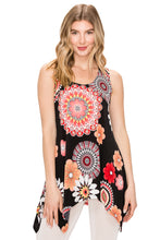 Load image into Gallery viewer, Jostar Women's HIT Side Drop Tank Tunic Print, 230HT-TP-W042 - Jostar Online