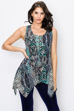 Load image into Gallery viewer, Jostar Women's HIT Side Drop Tank Tunic Print, 230HT-TP-W084 - Jostar Online