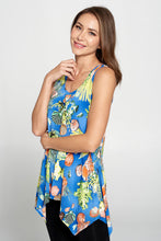 Load image into Gallery viewer, Jostar Women's HIT Side Drop Tank Tunic Print-230BG-TRP1-W278