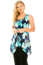 Load image into Gallery viewer, Jostar Women's HIT Side Drop Tank Tunic Print, 230HT-TP-W050 - Jostar Online