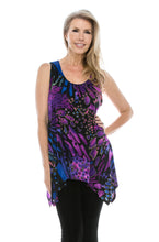 Load image into Gallery viewer, Jostar Women's HIT Side Drop Tank Tunic Print, 230HT-TP-W207 - Jostar Online