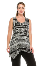 Load image into Gallery viewer, Jostar Women's HIT Side Drop Tank Tunic Print-230HT-TRP1-W901 - Jostar Online