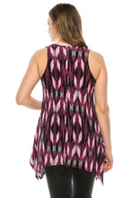 Load image into Gallery viewer, Jostar Women's HIT Side Drop Tank Tunic Print, 230HT-TP-W918 - Jostar Online
