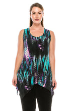 Load image into Gallery viewer, Jostar Women's HIT Side Drop Tank Tunic Print-230HT-TRP1-W944 - Jostar Online