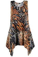 Load image into Gallery viewer, Jostar Women's HIT Side Drop Tank Tunic Plus Print, 230HT-TXP-W207 - Jostar Online