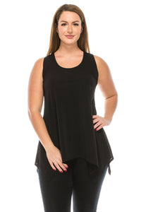 HIT Side Drop Tank Tunic in Plus Size, 230HT-TX