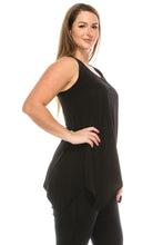 Load image into Gallery viewer, HIT Side Drop Tank Tunic in Plus Size, 230HT-TX