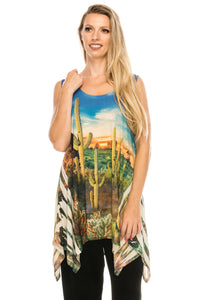 Jostar Women's HIT Sublimation Tank Tunic Sublimation Rhinestones-232HT-TRU1-R-U170 - Jostar Online