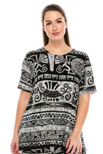 Load image into Gallery viewer, Jostar Women's Stretchy Vented Tunic Top Short Sleeve Plus, 242BN-SXP-W901