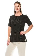 Load image into Gallery viewer, Jostar Women's Stretchy Vented Tunic Top Short Sleeve Plus, 242BN-SXP-W990