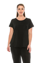 Load image into Gallery viewer, Stretch Short Sleeve Vented Top -242BN-S - Jostar Online