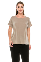 Load image into Gallery viewer, Jostar Women's Stretch Classic Short Sleeve Top , 312BN-S - Jostar Online