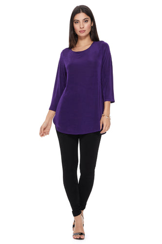 Jostar Women's Non Iron Rounded Bottom Tunic Top, 346AY-Q - Jostar Online