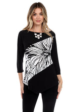 Load image into Gallery viewer, Jostar Women's HIT Center Drop Top Quarter Sleeve Contrast Print, 350HT-QPC-W218 - Jostar Online